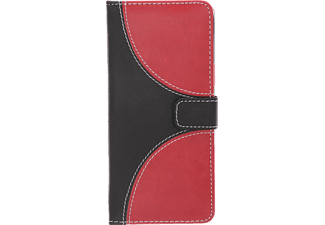 V-DESIGN NFC 159 New Fashion Galaxy S9 Handyhülle, Rot-Schwarz