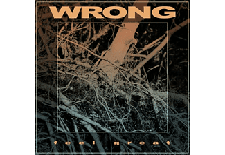 The Wrong - Feel Great (Black LP Single Jacket+MP3) - (LP + Download)