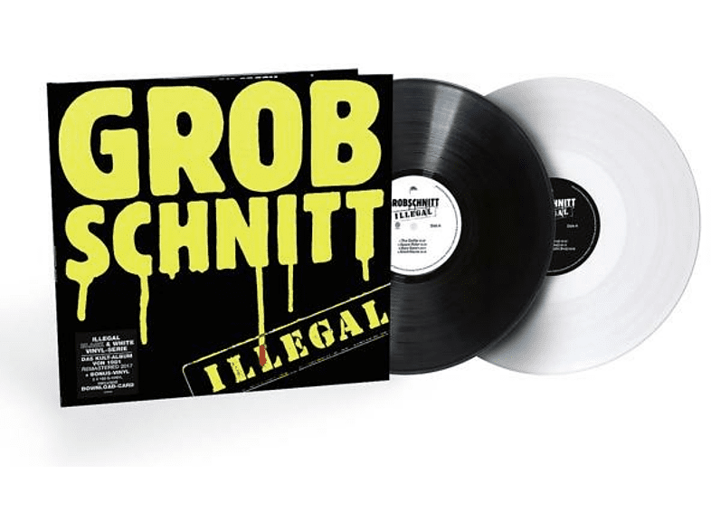 Grobschnitt - Illegal (Black & White 2-LP) [Vinyl]