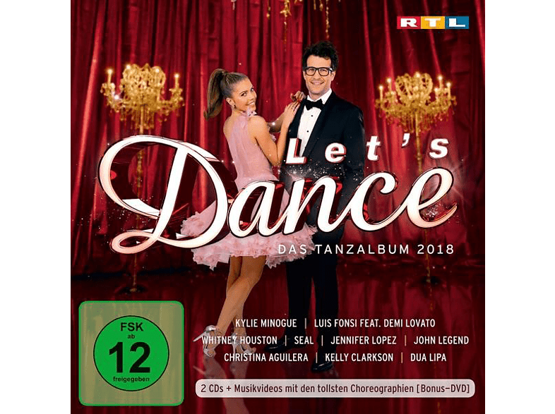 VARIOUS - Let's Dance-Das Tanzalbum 2018 (Inkl.Bonus DVD) [CD + DVD Video]