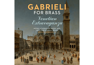 Royal Academy Of Music And Juilliar - Gabrieli for Brass - (CD)