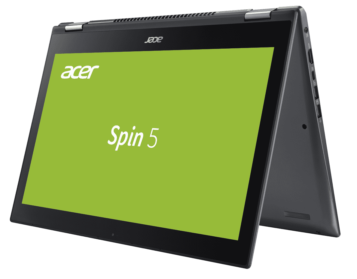ACER  Spin 5 (SP515-51GN-57B1) Convertible mit Core™ i5, GeForce® GTX 1050 & 8 GB RAM in Steel Gray | 04713883527323