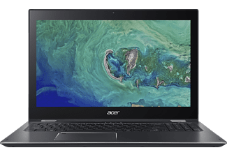ACER Spin 5 (SP515-51N-801H), Notebook mit 15.6 Zoll Display, Core™ i7 Prozessor, 8 GB RAM, 256 GB SSD, UHD Graphics 620, Steel Gray