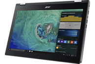 ACER Spin 5 (SP515-51N-801H), Notebook mit 15.6 Zoll Display, Core™ i7 Prozessor, 8 GB RAM, 256 GB SSD, Intel® UHD-Grafik 620, Steel Gray