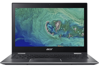 ACER Spin 5 (SP513-52N-8205), Notebook mit 13.3 Zoll Display, Core™ i7 Prozessor, 8 GB RAM, 512 GB SSD, UHD Graphics 620, Steel Gray