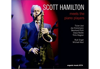 Scott Hamilton - Meets The Piano Players - (CD)
