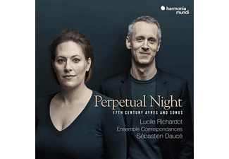 Lucile Richardot, Ensemble Correspondances Orchester - Perpetual Night - (CD)