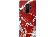 IDEAL OF SWEDEN Fashion Case , Backcover, Samsung, Galaxy S9+, Scarlet Red Marble