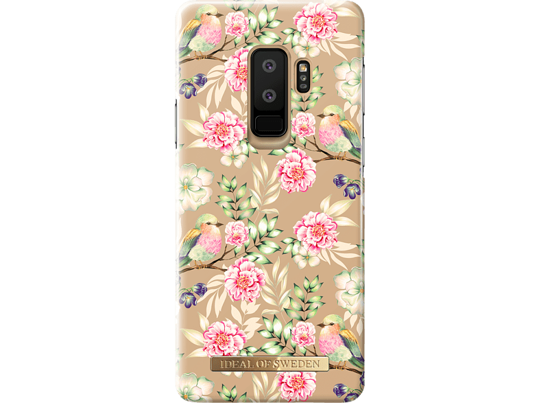IDEAL OF SWEDEN Fashion Case Backcover Samsung Galaxy S9+ Kunststoff Champagne Birds | 07340168701726