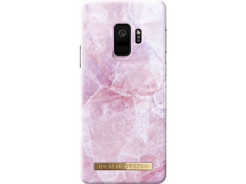 IDEAL OF SWEDEN Fashion Case Backcover Samsung Galaxy S9 Kunststoff, Wildlederfutter Pilion Pink Marble
