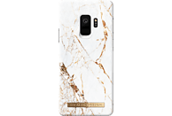 IDEAL OF SWEDEN Fashion Case , Backcover, Samsung, Galaxy S9, Kunststoff, Wildlederfutter, Carrara Gold