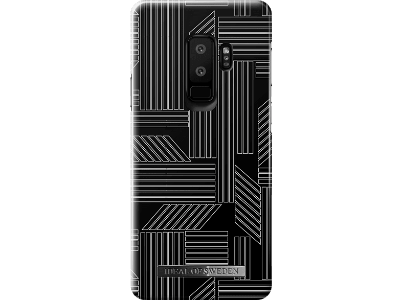 IDEAL OF SWEDEN Fashion Case , Backcover, Samsung, Galaxy S9+, Geometric Puzzle