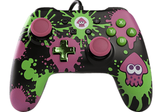 POWER A Splatoon Core Wired Iconic, Controller, Mehrfarbig