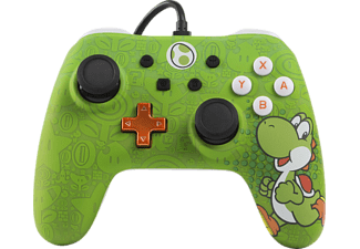 POWER A Yoshi Core Wired Iconic, Controller, Grün