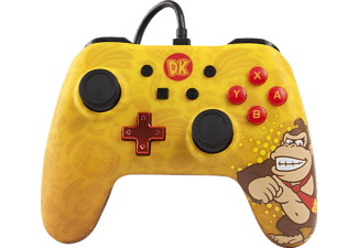 POWER A Donkey Kong Core Wired Iconic, Controller, Mehrfarbig