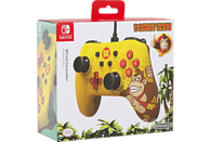 POWER A Donkey Kong Core Wired Iconic , Controller, Mehrfarbig