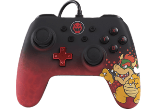 POWER A Bowser Core Wired Iconic, Controller, Mehrfarbig