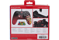 POWER A Bowser Core Wired Iconic , Controller, Mehrfarbig