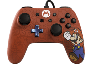 POWER A Mario Core Wired Iconic, Controller, Mehrfarbig