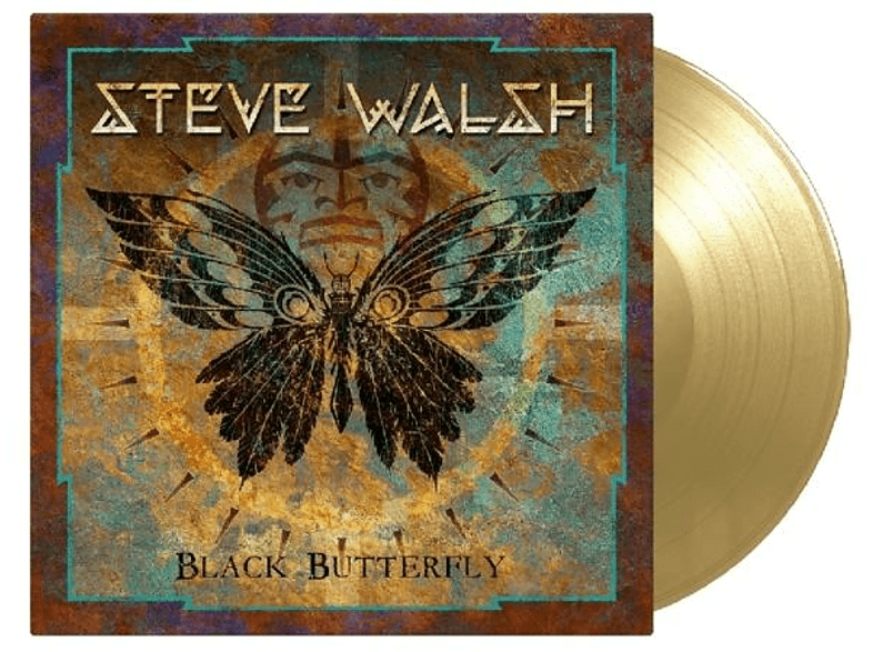 Steve Walsh - Black Butterfly (ltd goldenes Vinyl) [Vinyl]