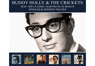 The Crickets, Buddy Holly - 6 Classic Albums Plus - (CD)