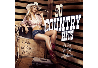CASH, J. REEVES,J.-LAINE,F.-CL - 50 Country Hits - (CD)
