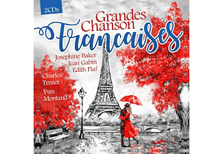 VARIOUS - Grandes Chansons Francaises - (CD)