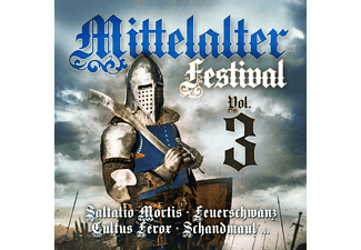 VARIOUS - Mittelalter Festival Vol.3 - (CD)