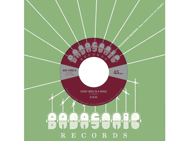 R.W.W.(Reggae Workers Of The World) - Every Once In A While/Jesse James (Lim.Ed.) [Vinyl]