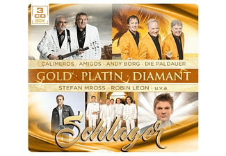 VARIOUS - Schlager-Gold Platin Diamant - (CD)