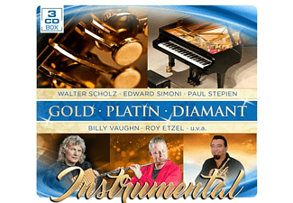 VARIOUS - Instrumental-Gold Platin Dia - (CD)