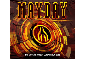 VARIOUS - Mayday 2018-We Stay Different - (CD)