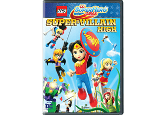 DC Super Hero Girls - Die Superschurken-Schule - (DVD)