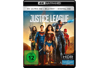Justice League [4K Ultra HD Blu-ray]