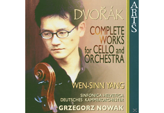 Wen-sinn Yang - Complete Works For Cello & Orchestra - (CD)