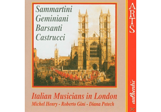 Milton Henry - Italian Musicians In London - (CD)