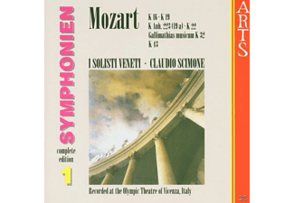 I Solisti Veneti - Symphonien Vol.1 - (CD)