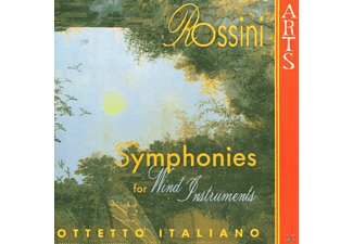 Ottetto Italiano - Symphonies For Wind Instrument - (CD)