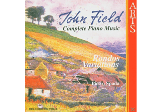 Pietro Spada - Complete Piano Music Vol.3 - (CD)