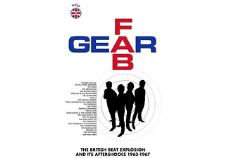 VARIOUS - Fab Gear-The British Beat Explosion (6CD BOXSET) - (CD)