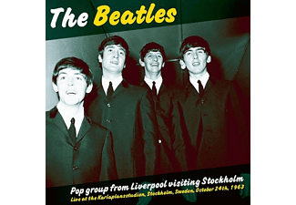 The Beatles - Pop Group From Liverpool Visiting Stockholm - (Vinyl)