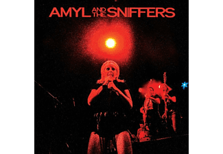 Amyl And The Sniffers - Big Attraction & Giddy Up (Black & Blue Vinyl) - (Vinyl)