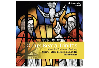 Ross & Ch Clare College Cambridge - O Lux Beata Trinitas - (CD)