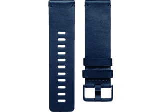FITBIT FB166LBNVS VERSA BAND LEATHER MIDNIGHTBLUE SMALL, Ersatz-/Wechselarmband, Fitbit, Midnight Blue