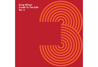 Greg Wilson - Credit To The Edit Vol.3 - (CD)
