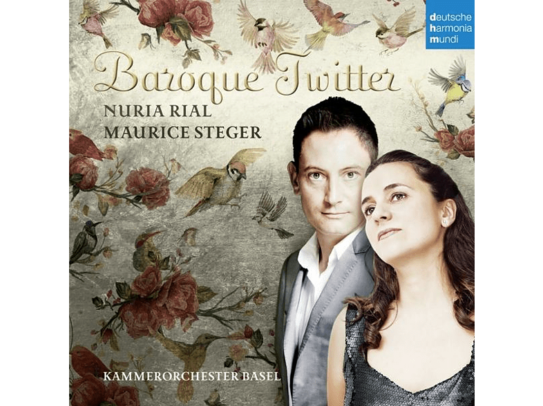 Núria Rial, Kammerorchester Basel - BAROQUE TWITTER [CD]