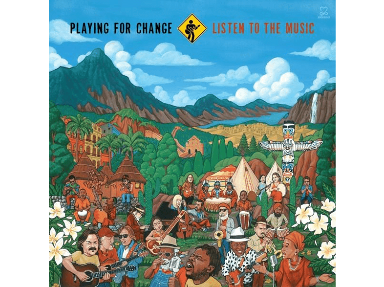 Playing For Change - Listen To The Music [CD]