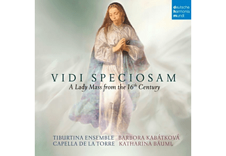 B. Kabatkova, Tiburtina Ensemble, Capella De La Torre - Vidi Speciosam-A Lady Mass from the 16th Century - (CD)