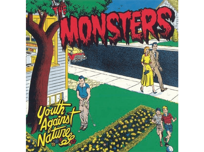 The Monsters - Youth Against Nature [Vinyl]