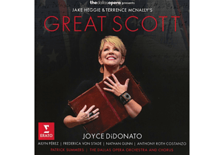 Joyce DiDonato,‎ Aylin Perez,‎ Frederica von Stade,‎ Nathan Gunn,‎ Anthony Roth Costanzo,‎ The Dallas Opera Orchestra and Chorus,‎ Patrick Summers - Heggie- Mcnally: Great Scott (CD)